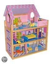 Base Toys Houten Poppenhuis Pinky