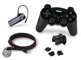 Bigben Draadloze Controller Vibratie + Hdmi Kabel 1.4 + Triggers + Bluetooth Headset Zwart PS3
