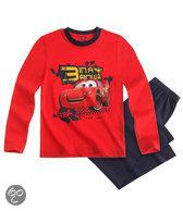 Disney Cars Jongenspyjama - Rood / Grijs - Maat 104