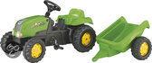 Rolly Toys RollyKid-X Tractor met Aanhanger