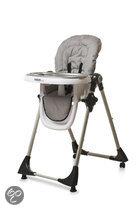 Titaniumbaby - Kinderstoel de Luxe - Zilver