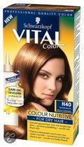 Schwarzkopf Vital Colours Royal Jelly - 40 Toffee Bruin - Haarkleuring
