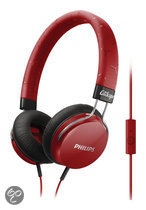 Philips SHL5305RD/00 (rot) Kopfhörer mit Mikrofon (SHL5305RD/00)