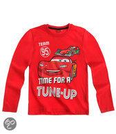Disney Cars Jongensshirt - Rood - Maat 128