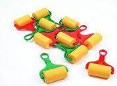Klei accessoires, 10 klei rollers plastic zak