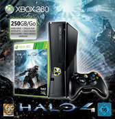 Xbox 360 250GB + 1 Controller + Halo 4 + Headset