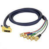 DAP Audio DAP DVI naar 5 x BNC kabel, 1,5 meter Home entertainment - Accessoires