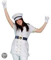 Marine Glitter - Kostuum - Maat L / XL - Wit