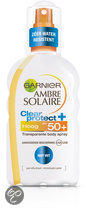 Garnier Ambre Solaire Clear Protect + Transparant SPF50+ Beschermend - 200 ml - Zonnebrandspray