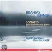 Brahms: Clarinet Sonatas /Jenner Cl