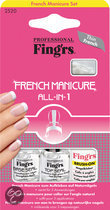 Fing'Rs All In 1 - French Manicure - Nagellak