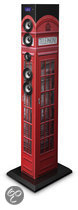 Multi Media Bluetooth Sound Tower en radio - Phone booth