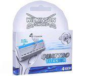 Wilkinson Quattro Titanium - Scheermesjes