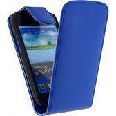 Samsung Galaxy Note 1 N7000 flip case hoesje blauw