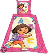 Dora dekbedovertrek alfabet