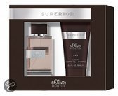 S. Oliver Geurengeschenksets S.oliver Men Selection Superior Duo Set: Eau De Toilette 30 Ml + Shower Gel & Shampoo 75 Ml
