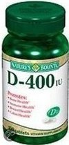 Natures Bounty Vitamine D - 100 Tabletten  - Vitaminen