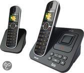 Philips CD6552B - Duo DECT telefoon met antwoordapparaat - Zwart