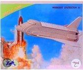 Houten bouwpakket Space Shuttle