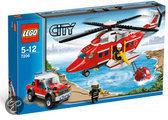 LEGO City Brandweerhelikopter - 7206