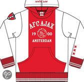 Sweater hooded ajax w/r/w AFC 1900 maat XXXL