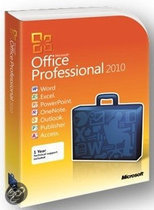 Microsoft Microsoft Office Professional 2010 - Nederlands / Licentie/ Download