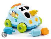 Cotoons - sorteer auto met vormpjes - blauw
