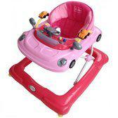 Colorfull Collection Loopstoel Babywalker Auto Pink