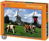 Hollands Glorie Koeien & Molens - Puzzel - 1000 stukjes