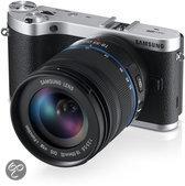 Samsung NX300 + 18-55mm + SEF-8A Flitser - Systeemcamera - Zwart