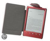 Gecko Covers Beschermhoes met LED Leeslampje voor Sony Reader Wi-Fi (PRS-T3S) - Donker Rood