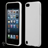 Apple iPod Touch 5 - wit siliconen - hoesje