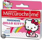Mercurochrome Hello Kitty - 12 stuks - Kinderpleister