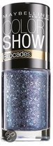 Maybelline Color Show Brocades - 222 Beaming Blue - Blauw - Nagellak