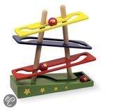 Base Toys Houten Knikkerbaan Run Star