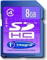 INTSDHC8GB4MEM SDHC 8GB     INTEGRA