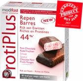 Modifast ProtiPlus Repen Pure Chocolade/Rode Vruchten - Maaltijdreep