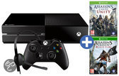 Microsoft Xbox One 500GB Console + 1 Wireless Controller + Assassin's Creed IV: Black Flag + Assassin's Creed Unity - Zwart Xbox One Bundel