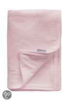 Cottonbaby - Ledikantdeken Wafel 150x120 cm - Roze