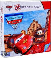 Mega puzzles 3d puzzel breaktrough - cars level 2