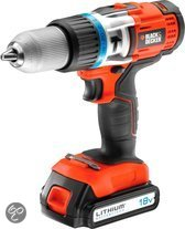 Black & Decker 18V High Performance Li-Ion Accuklopboormachine EGBHP188BK
