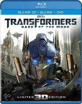 Transformers 3: Dark Of The Moon (3D+2D Blu-ray+Dvd)