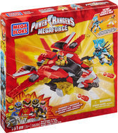 Mega Bloks Power Rangers Megaforce Red Rangers vs Vrak