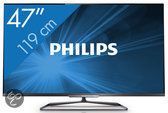 Philips 47PFL6008 - 3D led-tv - 47 inch - Full HD - Smart tv
