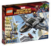 LEGO Quinjet Luchtduel - 6869