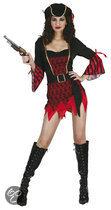 Luxe Piraat St Lucia - Kostuum - Maat L - Zwart