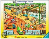 Ravensburger Raampuzzel Op de Bouwplaats