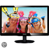 236V4LAB 23 LED 5ms 1920x1080 16/9 DVI&VGA 250 cd/m 170/160 Speakers VESA Glossy Black