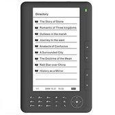 Internovation multimedia e-book reader zwart
