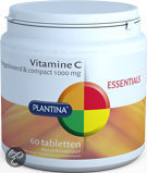 Plantina Vitamine C 1000 mg - 60 Tabletten - Vitaminen